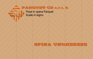 Posa in opera a spina ungherese