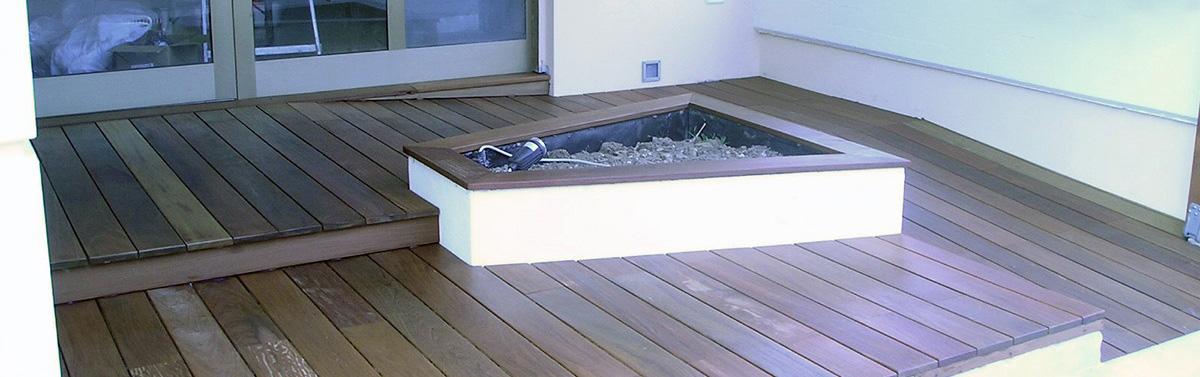 Posa parquet pavimentazione esterna